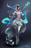 White Mage - Vespertine by StefTastan
