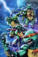 TNMT Turtle Power by diabolumberto