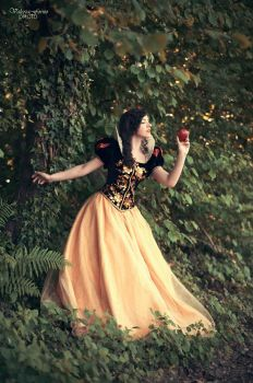 Snow White fairytale designer doll cosplay - 1 by Marivel87
