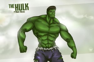 The HULK by kurtmorrisrojas