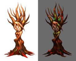 Lady Tree by Viviphyd