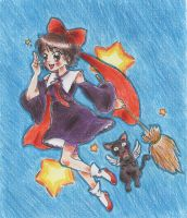 Kiki the Witch (Modern Version) by LuciaTan