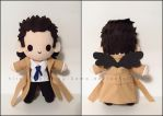 Chibi Castiel w/ Black Wings - Supernatural by Serenity-Sama