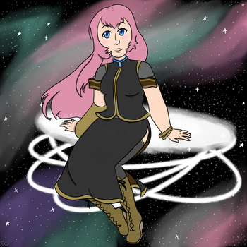 Luka in Space by DJRainbowMagica