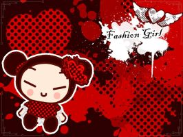 Pucca wallpaper by FlopyLopez