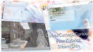 Steam Skin - Fear Kubrik - 1920x1080 by MaxiKingPL