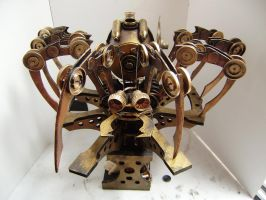 Steam Punk spider by impsandthings