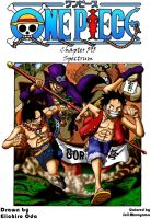 One Piece Chapter 596 - Cover by Seiji-Murayama