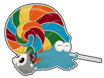 Lollipop Omanyte by The-Emerald-Otter
