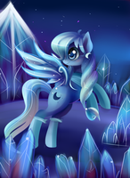 Sapphire cresent by Incinerater