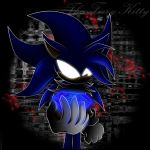 Pravus - Dark Sonic by Blaze-Fiery-Kitty