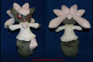 Diancie Plush by MegasArtsAndCrafts