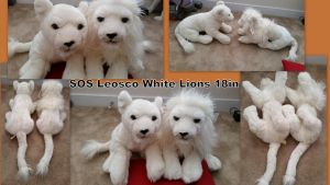 Sos leosco White Lions 18in by Vesperwolfy87