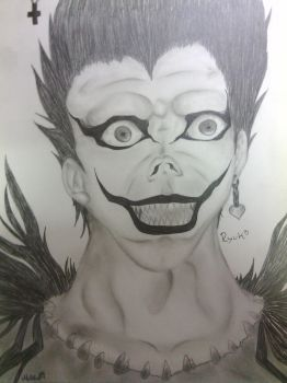 Ryuk (Death Note) by ToppKlass