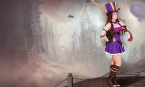 Caitlyn, League of Legends by JungleJulia91