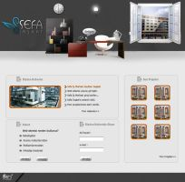 Sefa insaat web interfaces by omeruysal