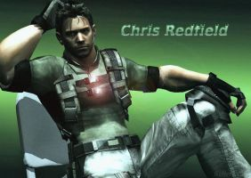 Chris Redfield by SufferTears