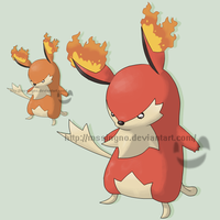 Fakemon Bochu by mssingno