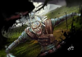 Geralt of Rivia by seanbianchi