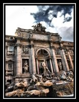 Trevi Fountain HDR by lehPhotography