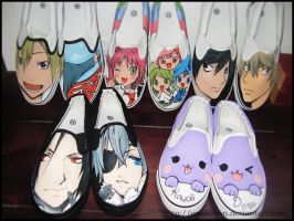 Anime shoes 4 by OpaliChan