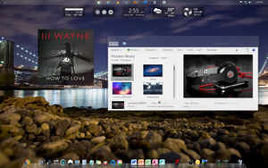 How to Love Win7 Skin by luisakanewt