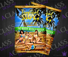 Tropical Swag_Flyer by aCLASSdesignz