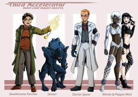 Third Accelerator Cast Model Sheet 2 by MachSabre