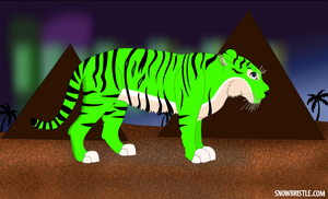 Green Tiger??? by catmariolove