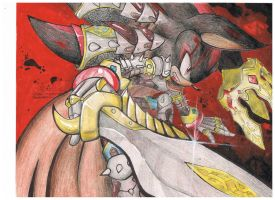 Fall of King Lancelot by AbrilTheMareep