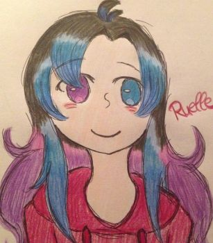 Ruelle (Me) by xredscarf