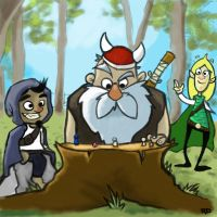 Dungeons and Dragons by UnusualHero