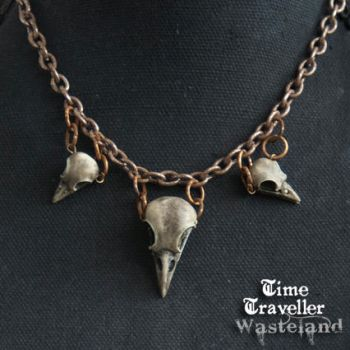 Time Traveller Wasteland  -Apocalyptic Jewelry by LivingDreadDoll