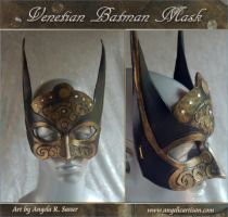 Venetian Batman Mask by Angelic-Artisan