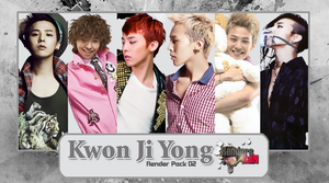Kwon Ji Yong G-Dragon Render Pack 02 by VisualMaknae