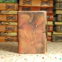Chestnut Leather Journal by gildbookbinders