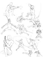 Action Poses 2 by shinsengumi77