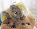 Derpy the muffin pony  -handmade plushie by Piquipauparro