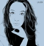 Faces: Laura by 0JaCo