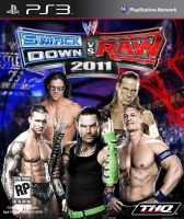 Smackdown Vs Raw 11 PS3 Cover by IslamxAhmed