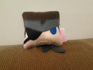 Handmade Metal Gear Solid Naked Snake Mini Pillow by RbitencourtUSA