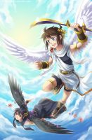 Kid Icarus Uprising by Lo-wah
