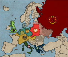 Map of Europe circa 1940 (ROBLOX) V2 by KingTorrhenStark