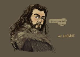 Thorin Oakenshield by haleyhss
