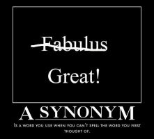 A Synonym gets Motivated by crystal-of-ix