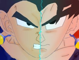 almost Vegetto by goliad