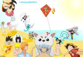 summer 2012 anime by VoonYaoTeck23