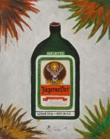 Jagermeister Bottle by RickyMartinez