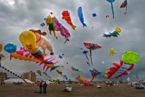 Kites by Bazz-photography