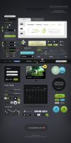Futurico - Free User Interface Elements Pack by ProRock